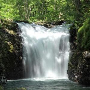 八幡平山麓の伏流水
